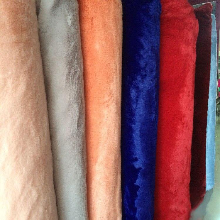 Мягкий лисий мех ткань одежда нагрудник шаль игрушка Искусственный Мягкий мех ткань оптовая продажа