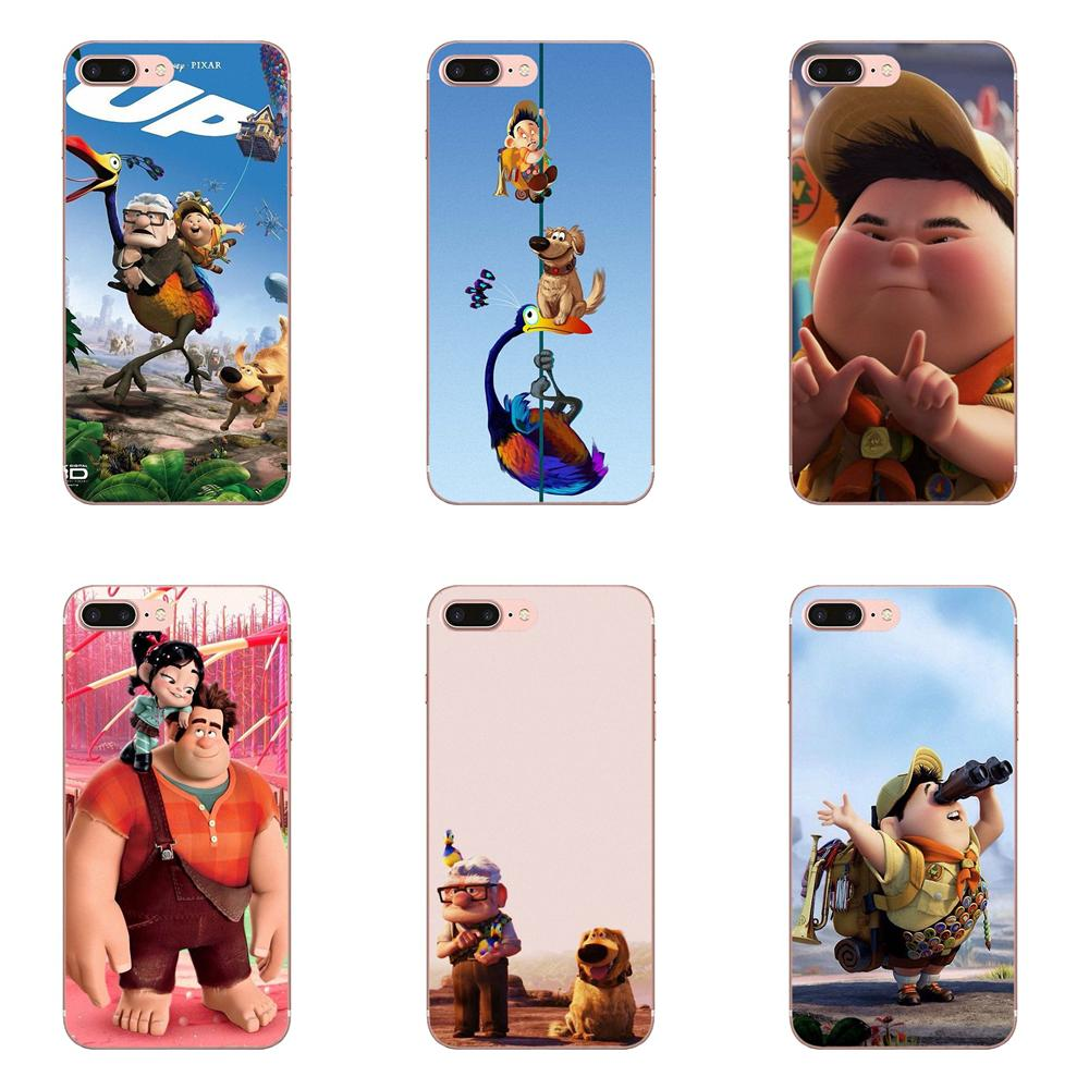 Adventure Up Pixar Animation Movie Quote Balloons Fly For Huawei P7 P8 P9 P10 P20 P30 Lite Mini Plus Pro 2017 2018 2019 image