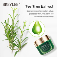 BREYLEE Acne Treatment Face Cream Anti Acne Pimple Removal Spots Oil Control Shrink Pores Moisturizing Whitening Skin Care 20G 3
