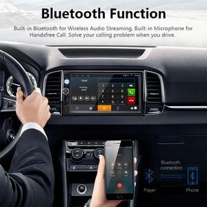 Image 3 - Jansite 2 din 7 inch HD Android đài phát thanh chơi Xe Kỹ Thuật Số màn hình cảm ứng Bluetooth gương liên kết USB DVD cáp Video phương tiện truyền thông Phổ