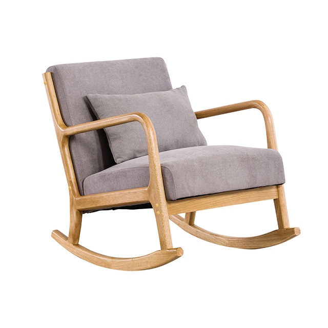 Hardwood Rocking Armchair  3