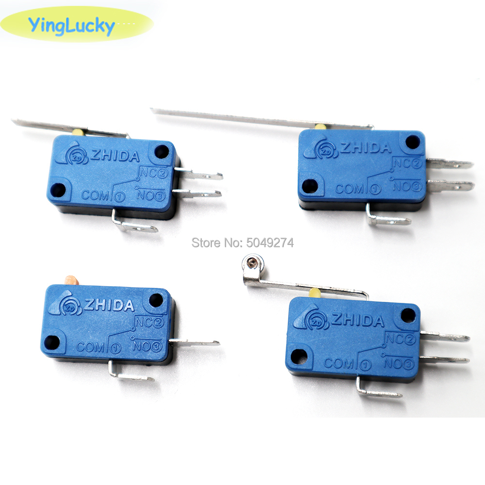 10pcs/lot High Quality Microswitch Micro switch for Arcade Joystick 3 Terminals for Acade Game Machine/Accessories/Pa(China)