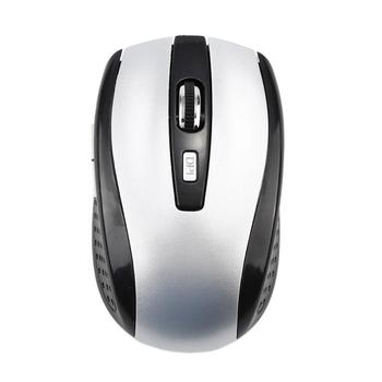 2.4GHz Wireless Cordless Optical Scroll Wheel 1600 Dpi Mouse Mice Ergonomic Mouse For PC Laptop Computer Hot In Sale - Sliver, France