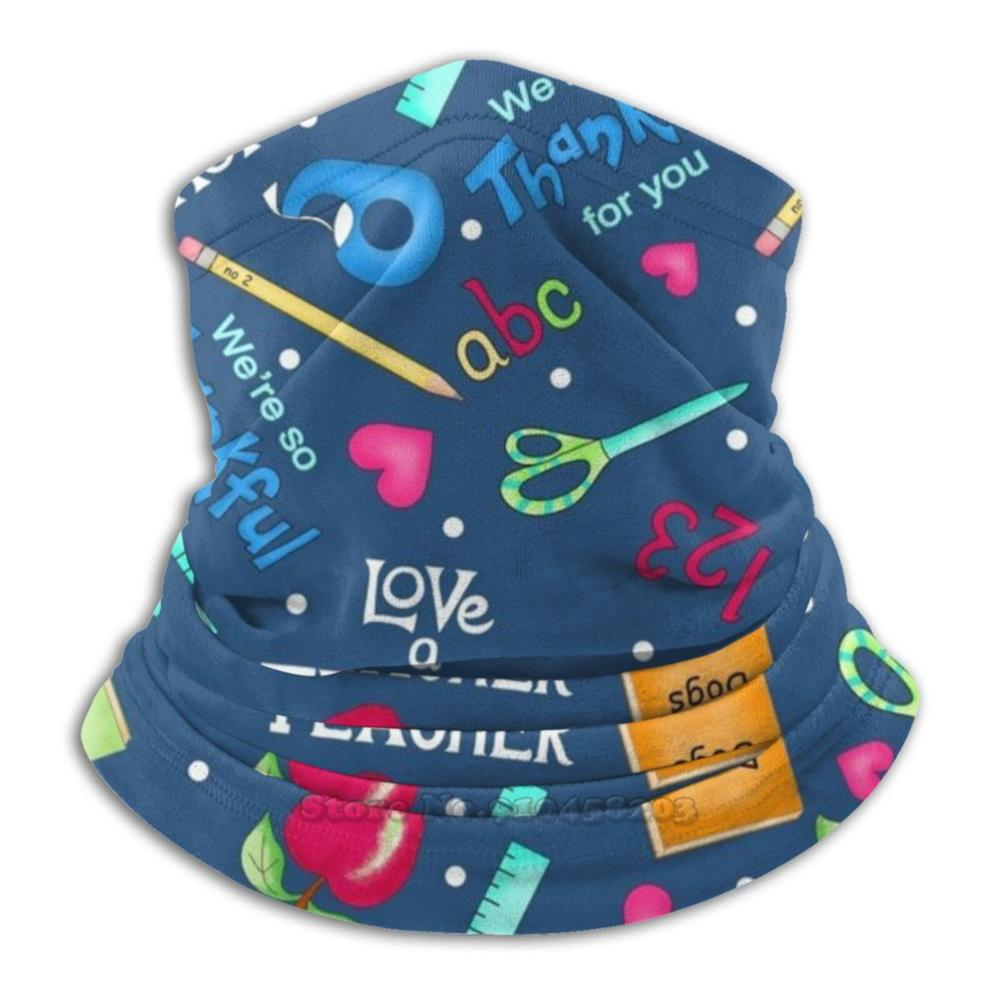 И с надписью «любовь» или с учитель слова и искусство Темно-синие с шарфом теплые гетры Головные уборы маска для велоспорта и с надписью «лю...
