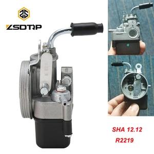 Image 1 - ZSDTRP Motorcycle Carburetor For PIAGGIO Ciao PX FL VESPA moped pocket SHA 1212 Dellorto Carb R2219