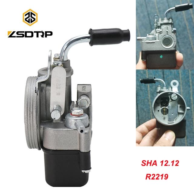 ZSDTRP Motorcycle Carburetor For PIAGGIO Ciao PX FL VESPA moped pocket SHA 1212 Dellorto Carb R2219