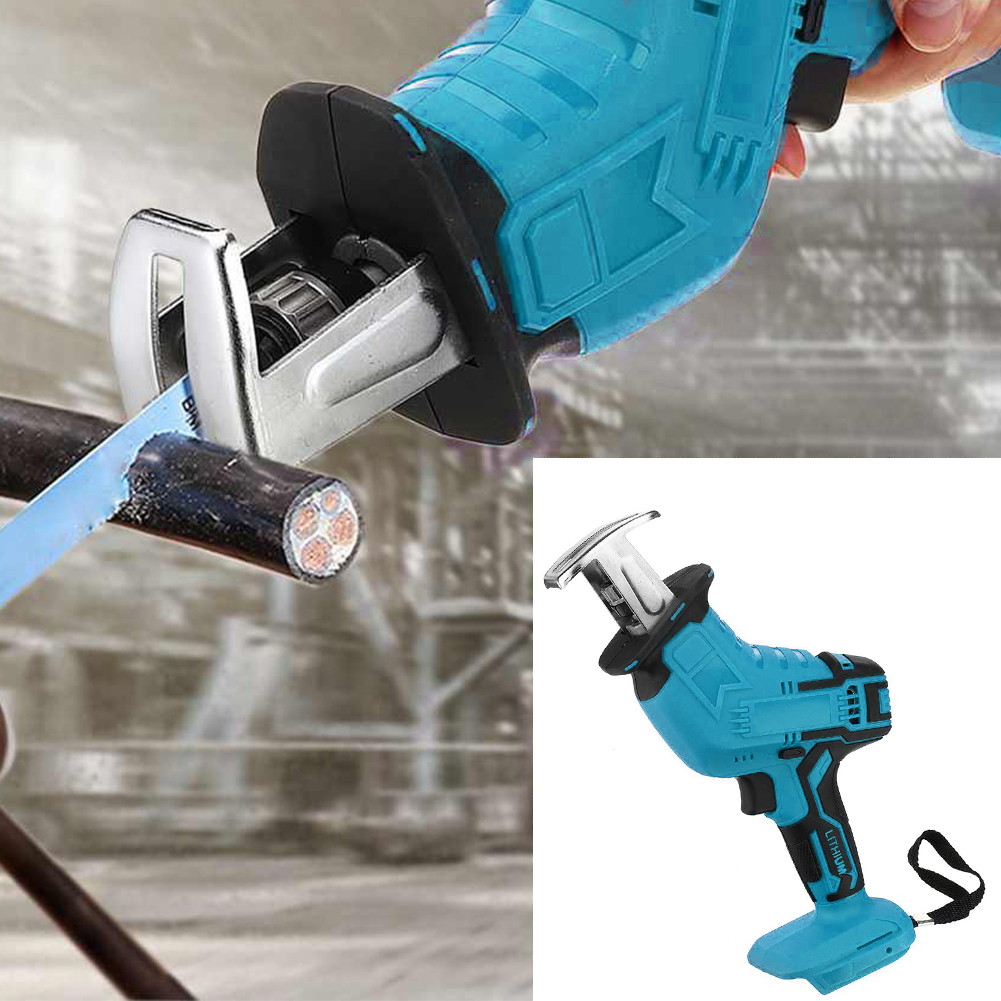 18V Cordless Reciprocating Saw Portable Replacement Electric Saw Metal Wood Cutting Machine Tool For Makita 18V Battery
