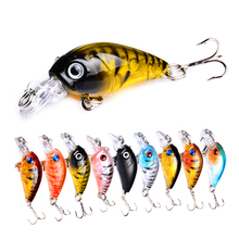 YUZI 1pcs Crankbait Minnow Wobblers Fishing Lure Artificial bait Floating Trolling Crank Bait Hard Pike Bass Catfish Carp