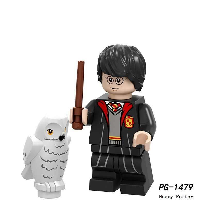 LegoING Blocchi di Costruzione Minifigured Serie Di Pompaggio Harri Potter Trelawney Cho Chang Dobby Action Figure Per Bambini Giocattoli del Regalo