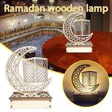 Moslim Beeldjes Ledeid Mubarak Houten Geschenken Kan Diy Decoratie Voor Eid Al Fitr Pesebres De Navidad Decoracion Miniaturen #40