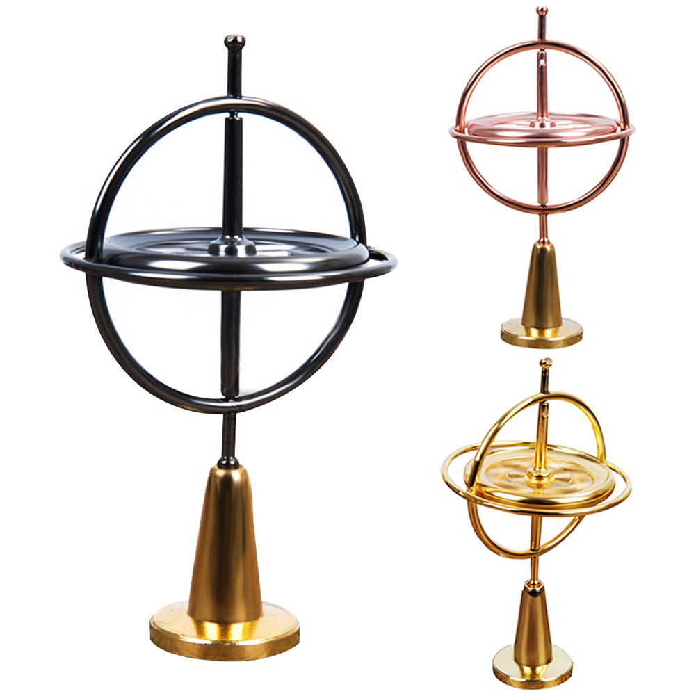 Classic Metal Gyroscope Gyro Pressure Relieve Speed Balance Educational Toy educational and pressure relieving perfect gifts