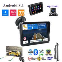 цена на 9-inch Car GPS Navigator HD Capacitive Screen GPS Satellite Navigation With Updated Global Map Automobile