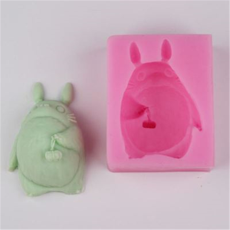 3D Cartoon Cat Shape Baking Tools Soap Mold Silicone Mousse Cake Mold Cake Decoration Tools Food Grade Material KK414