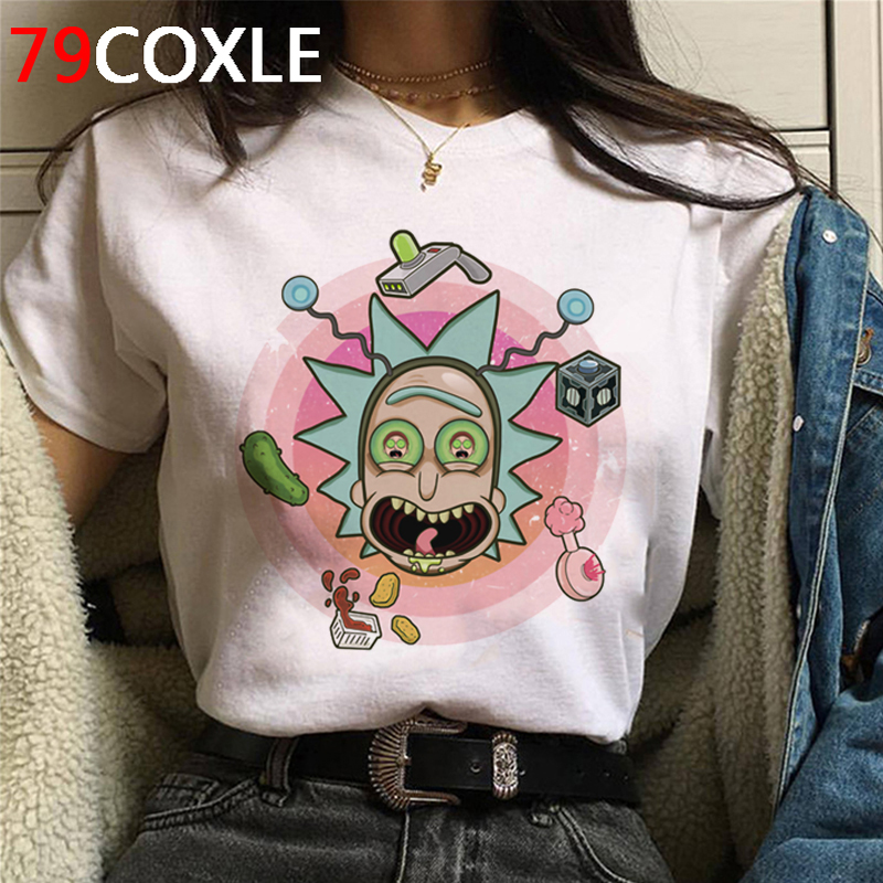 Rick And Morty Harajuku T Shirt Men Unisex Funny Cartoon Ricky N Morty T-shirt Graphic Pickle Anime Tshirt Fashion Top Tees Male