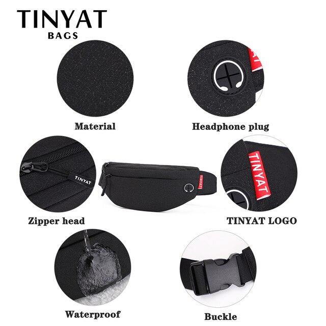 Waist Bag Pack Purse Casual Large Phone Belt 5