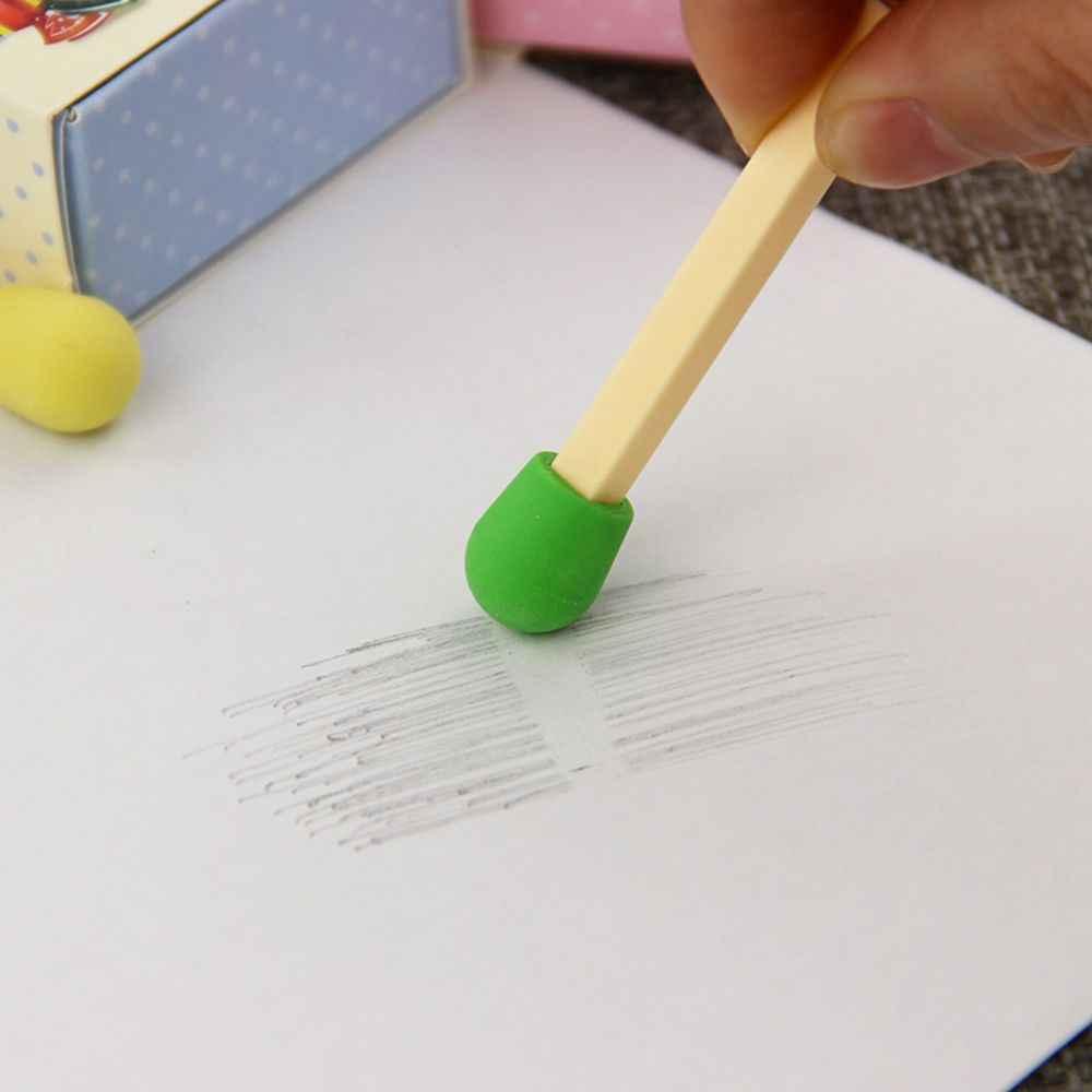 8 Cái/hộp Dễ Thương Kawaii Trận Đấu Tẩy Đáng Yêu Tẩy Màu Dành Cho Trẻ Em Học Sinh Sáng Tạo Cho Trẻ Em Sản Phẩm Quà Tặng Trường Văn Phòng Phẩm