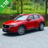 1:18 High Meticulous MAZDA 2018 CX 5 CX5 SUV Alloy Model Car Static Metal Model Vehicles With Original Box