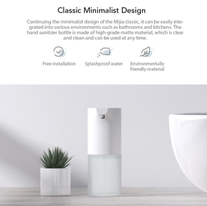 Image 2 - In Stock Xiaomi Mijia Auto Induction Foaming Hand Washer Wash Automatic Soap Dispenser 0.25s Infrared induction For Family ho D5