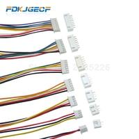 Juego de 5 conectores de Cable JST XH2.54 XH de 2,54mm, conector de Cable 2/3/4/5/6/7/8/9/10 Pin, conector macho hembra de 300MM, Cable 26AWG