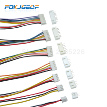5 Sets JST XH2.54 XH 2.54mm Wire Cable Connector 2/3/4/5/6/7/8/9/10 Pin Pitch Male Female Plug Socket 300MM 26AWG
