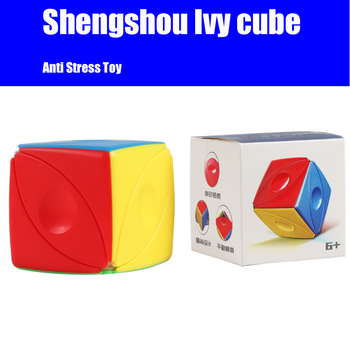 ShengShou Ivy Cube SengSo Magic Eye Speed Cubes Educational Toy for Children Office Anti Stress Cubo Magico shengshou cube 2 x 2 x 2 mini cube black base fun educational toy