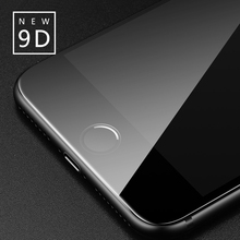 9D Tempered Glass Film For Iphone 6 7 Full Curved Screen Protector Iphoner8 X Professional Protective Case