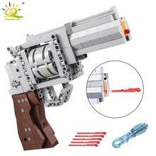 Huiqibao 475 шт технические револьвер огнестрельное оружие пистолет