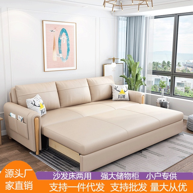 Northern European-Style Sofa Bed  1