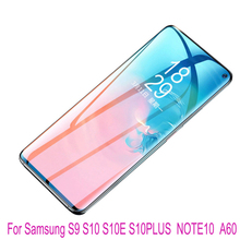 Full Cover  Protective Film For Samsung S9 S10 S10E S10PLUS NOTE10 A60 Screen Protector Hydrogel film