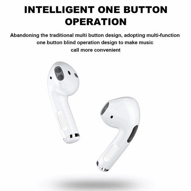 Pro 4 Bluetooth Earphones TWS HD Call Wireless Headphone HiFi Music Earbuds Sports Runing Headset For All Smart Phone 3
