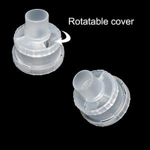 Image 5 - O inalador do copo do nebulizador do compressor do inalador do copo atomizou o equipamento médico do nebulizer parte o cateter para a criança adulta