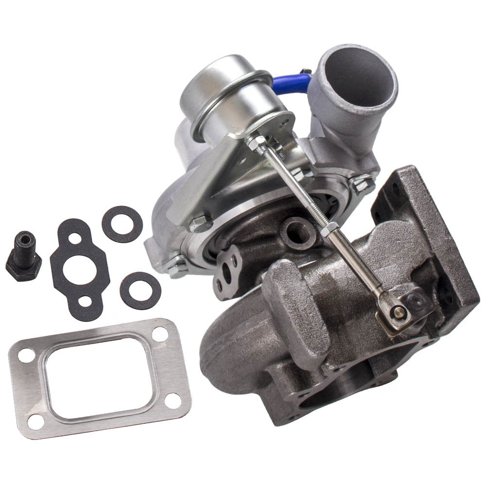 GT2871 T25 T28 Flange Universal Turbo Charger 0.6 A/R 0.64 A/R 5-Bolt Flang  Oil+Water Cooling Turbo Tubocharger 400+HP