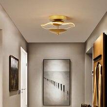Скандинавская Минималистичная потолочная лампа современный светильник