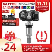 Autel Mx Sensor 433 315 Tpms Mx Sensor Scan Band Reparatie Tools Automotive Accessoire Tyre Pressure Monitor Maxitpms Pad programmeur