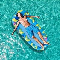 Wasser Hängematte Liege Aufblasbare Schwimm Reihe Schwimmen Matratze Meer Schwimmen Pool Party Spielzeug Sonnenbad Lounge Bett