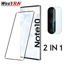 For Samsung Galaxy note 10+ Plus Screen Protector Camera Lens Tempered Glass For Samsung Galaxy note10 Plus Protective Flim protect flim for 2711p t7c6d6 panelview plus 700