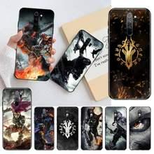 HPCHCJHM-funda de teléfono negro para Redmi Note 9, 8, 8A, 8T, 7, 6, 6A, 5, 5A, 4, 4X, 4A, Go Pro, Darksiders III