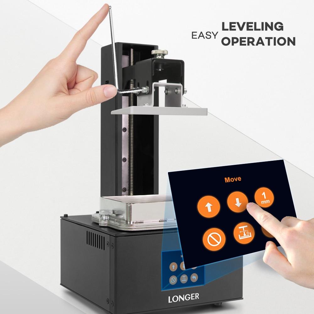 Image 5 - LONGER ORANGE 10 LCD SLA 3D Printer Kit With Resin Matrix UV Lighting of Resin 3D Printer Full Metal Body 3D Print Resin Printer3D Printers   -