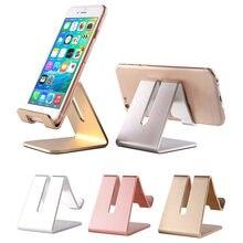 Suporte do telefone móvel suporte para ipad iphone xiaomi suporte de mesa de alumínio suporte de suporte de mesa antiderrapante suporte de telefone