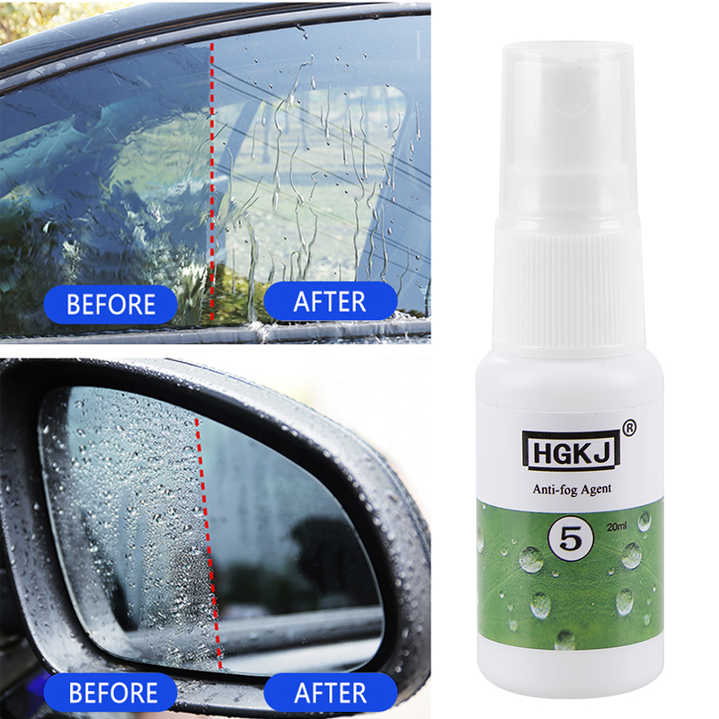 HGKJ-20ml Automotive Glass Anti Fogging Agent Glasses Helmet Defogging Agent Coating Anti-fog Agent Car Cleaner TSLM1