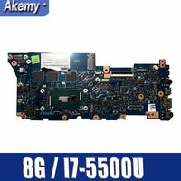UX305LA I7 5500 CPU 8GB RAM Mainboard For Asus Zenbook UX305 UX305L U305L U305LA Ultrabook Laptop Motherboard Test 100% OK|Motherboards|   -