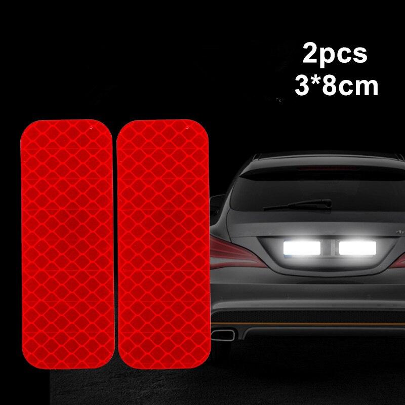 Reflector Tape Car Reflective Strips Door Bumper Stickers  Warning Mark