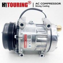 For Sanden sd7h15 compressor aircon pump For LAND ROVER DEFENDER LD Pickup 2.5 Td5 JPB101200 TSP0155160 8FK351132231 SD 8076