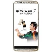 "Stock International Firmware ZTE Axon 7 A2017 4G LTE Cell Phone Android 6.0 5.5"" 2560X1440 4GB RAM 64GB ROM 20.0MP Fingerprint 2"