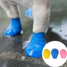 Buty dla psa wodoodporny balon kalosze na deszcz obuwie skarpetki dla kota dla szczeniąt Chihuahua botas buty dla psa botas para perro