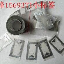 RFID HF Thẻ Khô Ốp Hoa TI Thẻ 2K 38*23Mm ISO15693 5 Cái/lốc