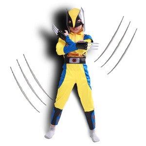 Image 2 - Новые костюмы Росомаха с когтями, детские костюмы на Хэллоуин для детей, маскарадные костюмы для маскарада моя геройская академия