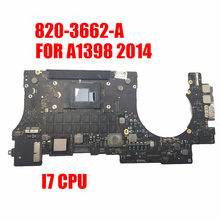 "2014 A1398 Moederbord Voor 2014 Macbook Retina 15 ""I7 Cpu Logic Board 820-3662-A 8Gb/16Gb Test goed Werk Main Board(China)"