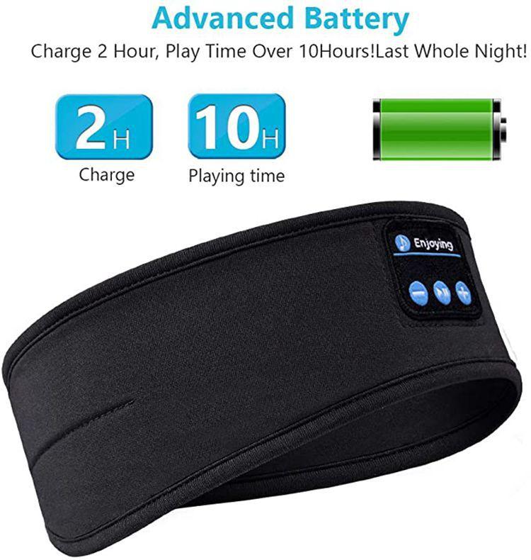 Bluetooth dormir fones de ouvido esportes bandana