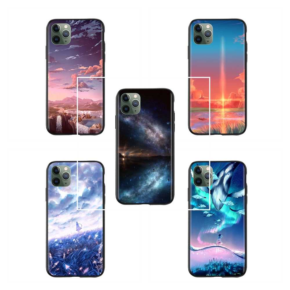 Latest Like The Clouds Like The Wind Anime Destop Wallpaper Cases For Iphone 5s Protector Phone Coque Aliexpress